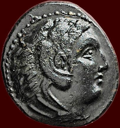 bronze alexandre le grand Macédoine Ray40310