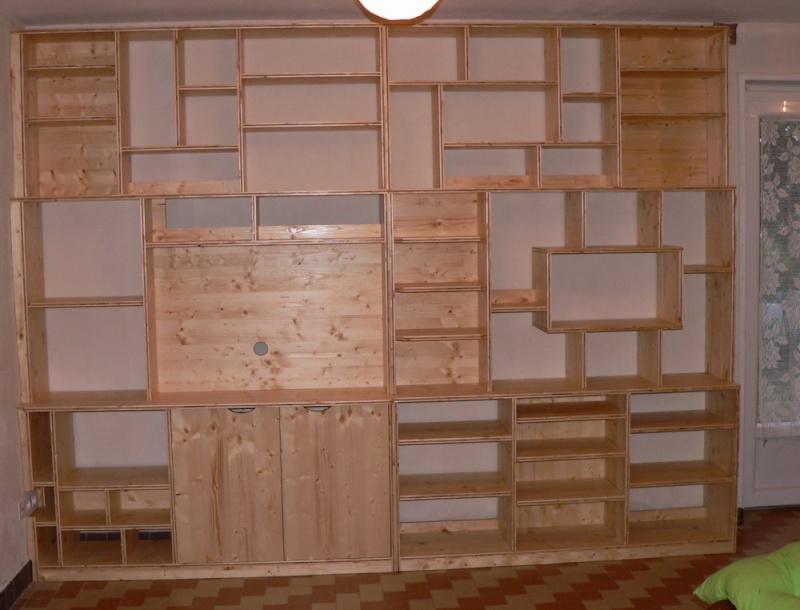 Quelques meubles en trois-plis Biblio10