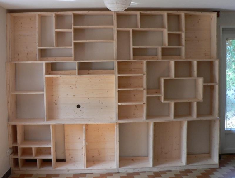 Quelques meubles en trois-plis Biblio11