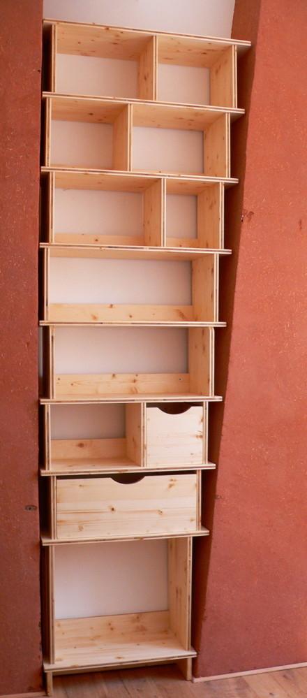 Quelques meubles en trois-plis Etager15