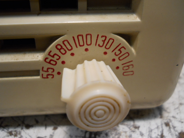 General Electric model 50 TRF clock radio 00213