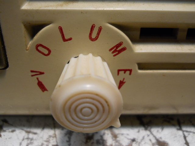 General Electric model 50 TRF clock radio 00316