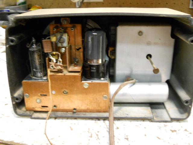 General Electric model 50 TRF clock radio 00414