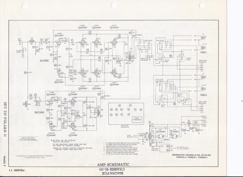 Restoration of a Magnavox Concert Grand model 1ST800F - Page 4 Correc10