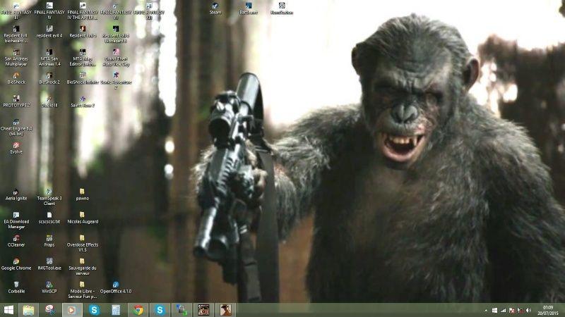 Screen de votre fond d'écran Dezdze10