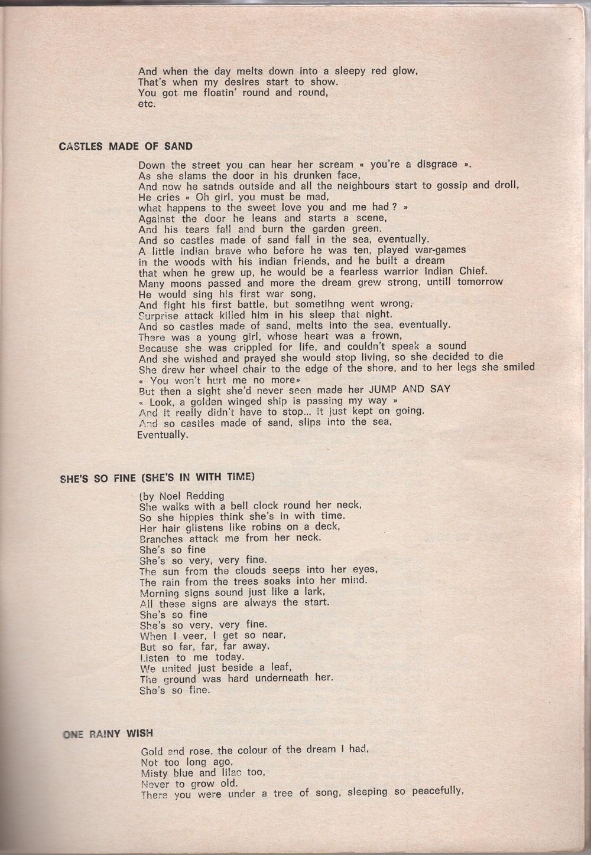 Curio Francais... Jimi Hendrix Songbook 2110
