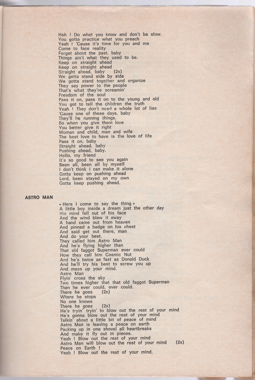 Curio Francais... Jimi Hendrix Songbook 3710
