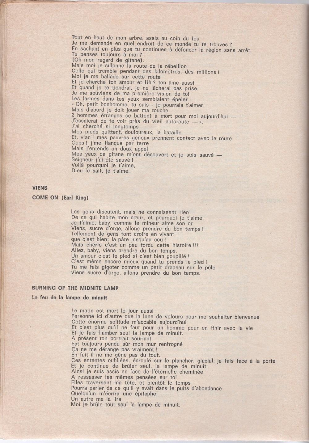 Curio Francais... Jimi Hendrix Songbook - Page 2 5010