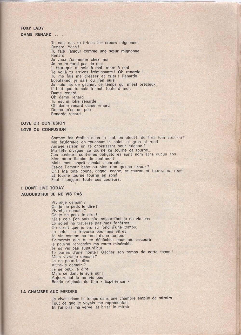 Curio Francais... Jimi Hendrix Songbook - Page 2 5110
