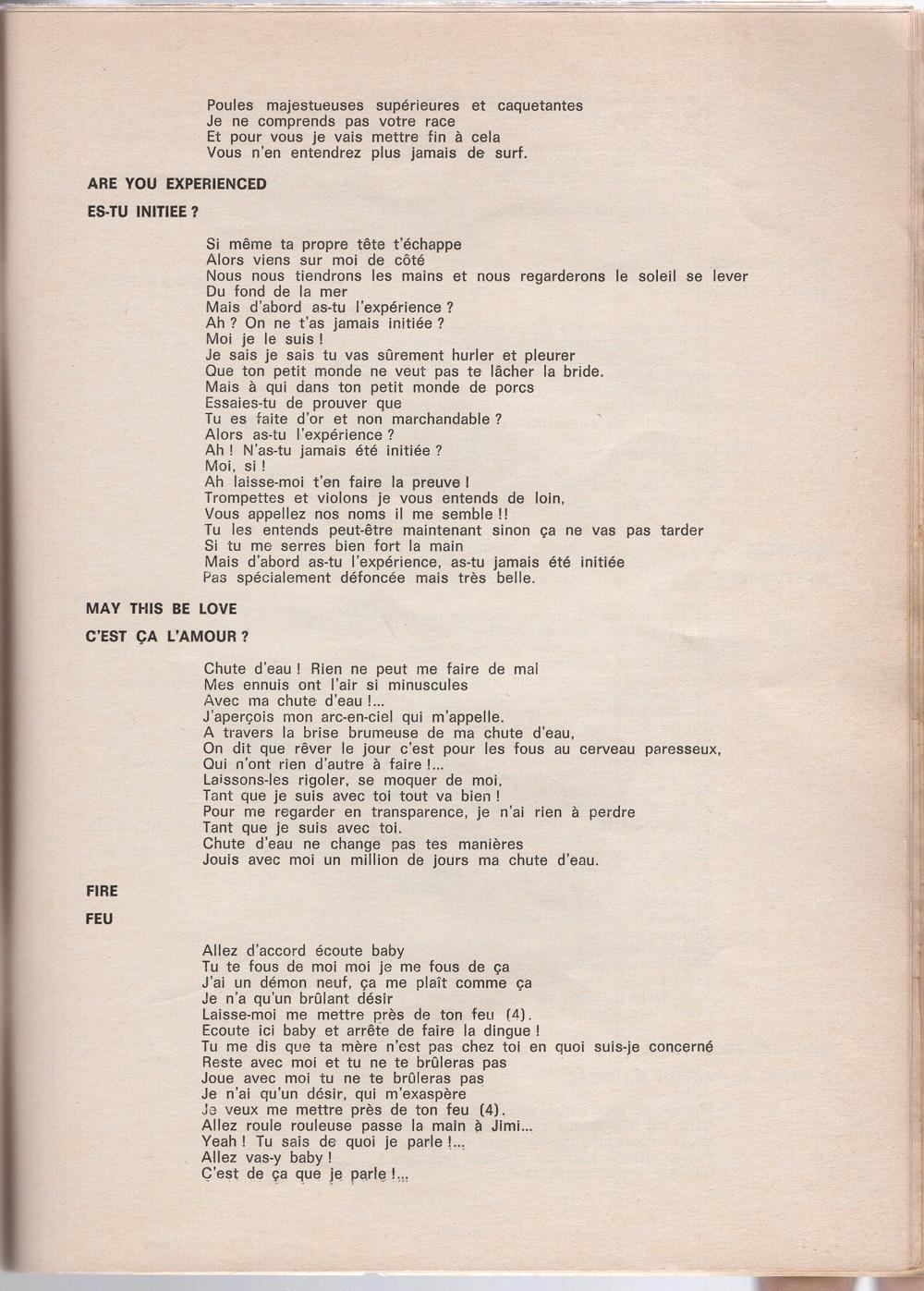 Curio Francais... Jimi Hendrix Songbook - Page 2 5310