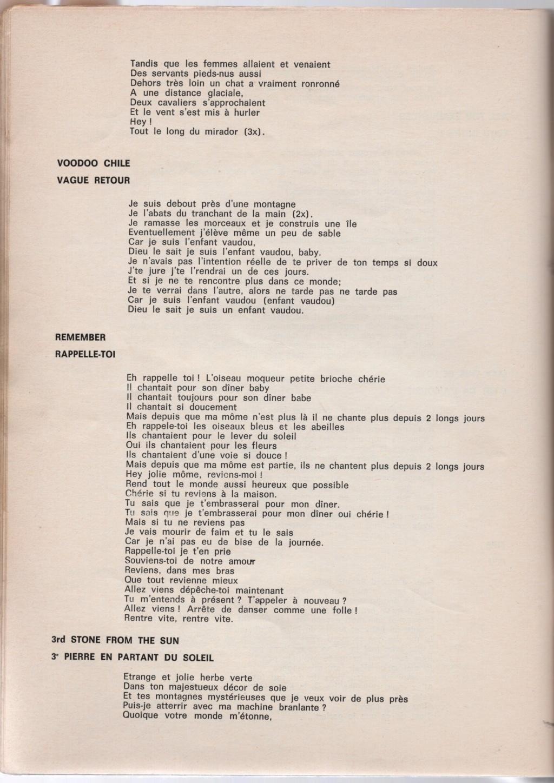 Curio Francais... Jimi Hendrix Songbook - Page 2 5410