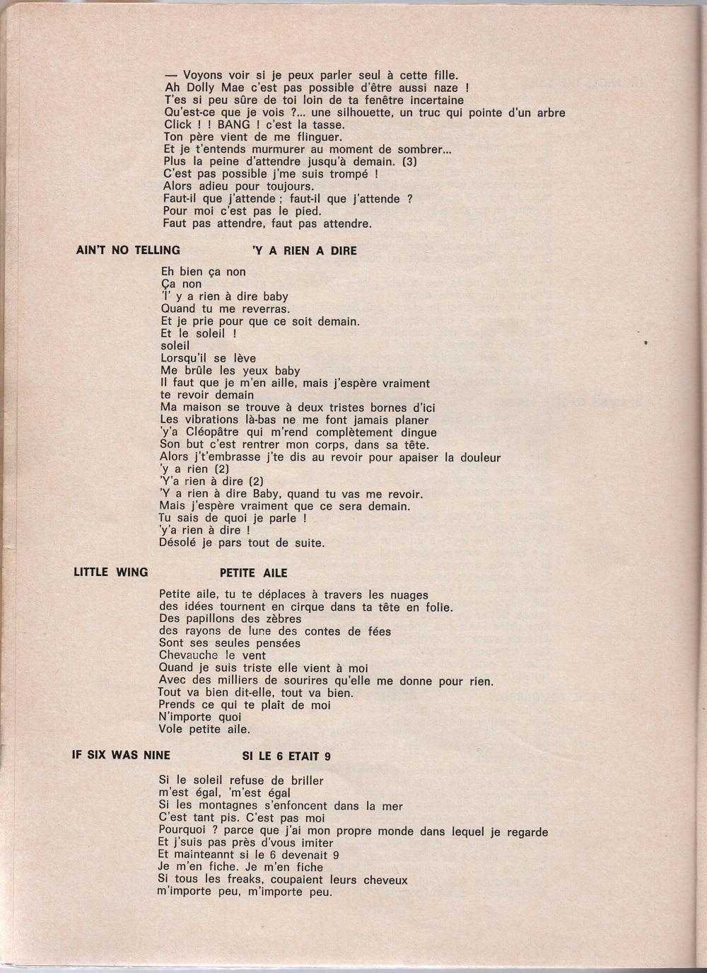 Curio Francais... Jimi Hendrix Songbook - Page 2 6910