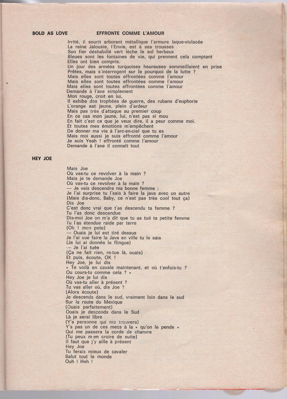 Curio Francais... Jimi Hendrix Songbook - Page 2 7210