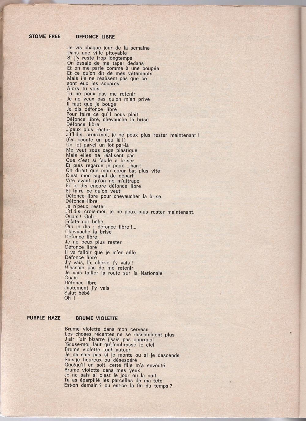 Curio Francais... Jimi Hendrix Songbook - Page 2 7310