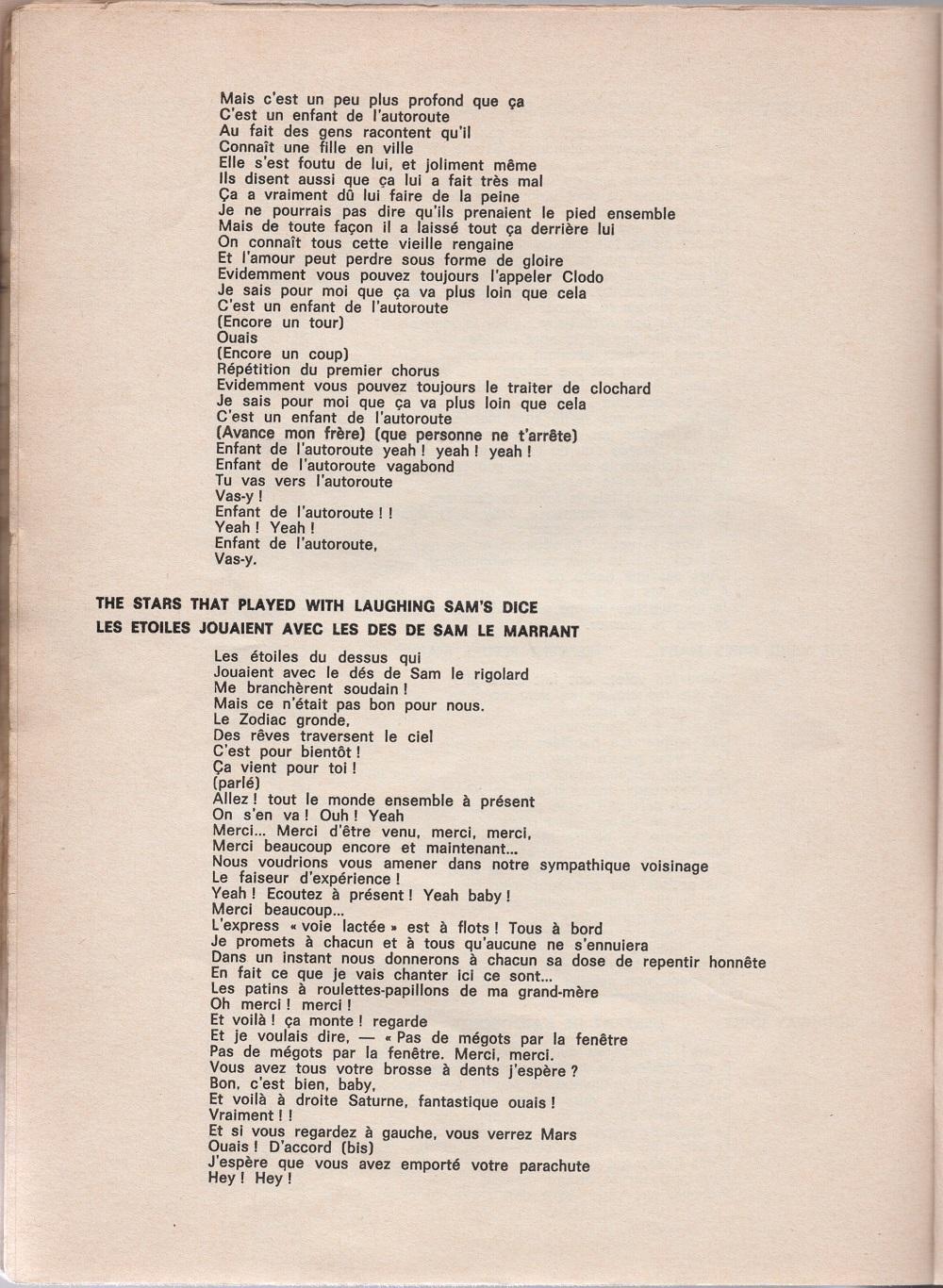 Curio Francais... Jimi Hendrix Songbook - Page 2 7510