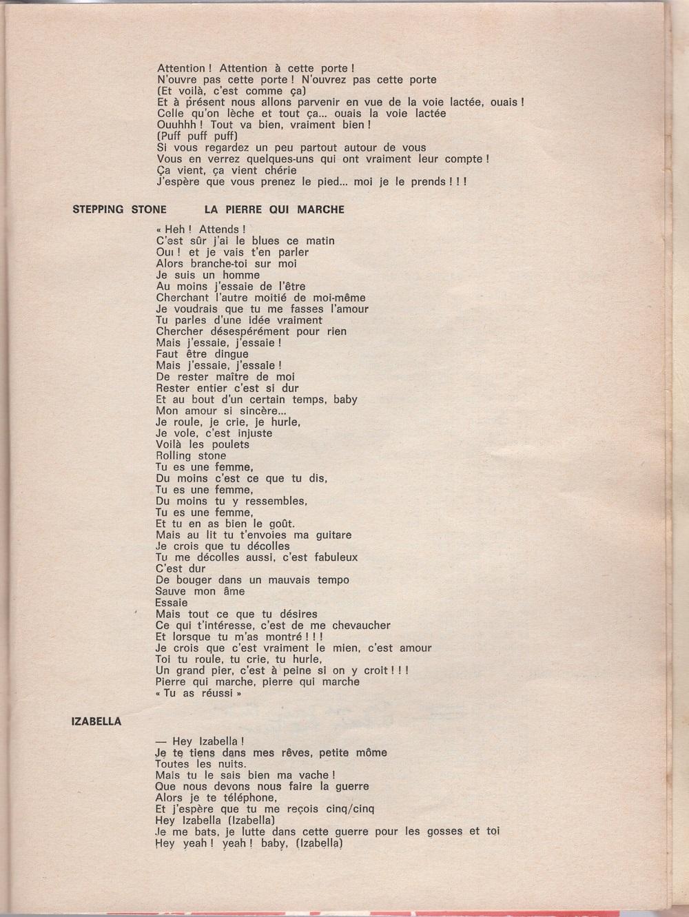 Curio Francais... Jimi Hendrix Songbook - Page 2 7610