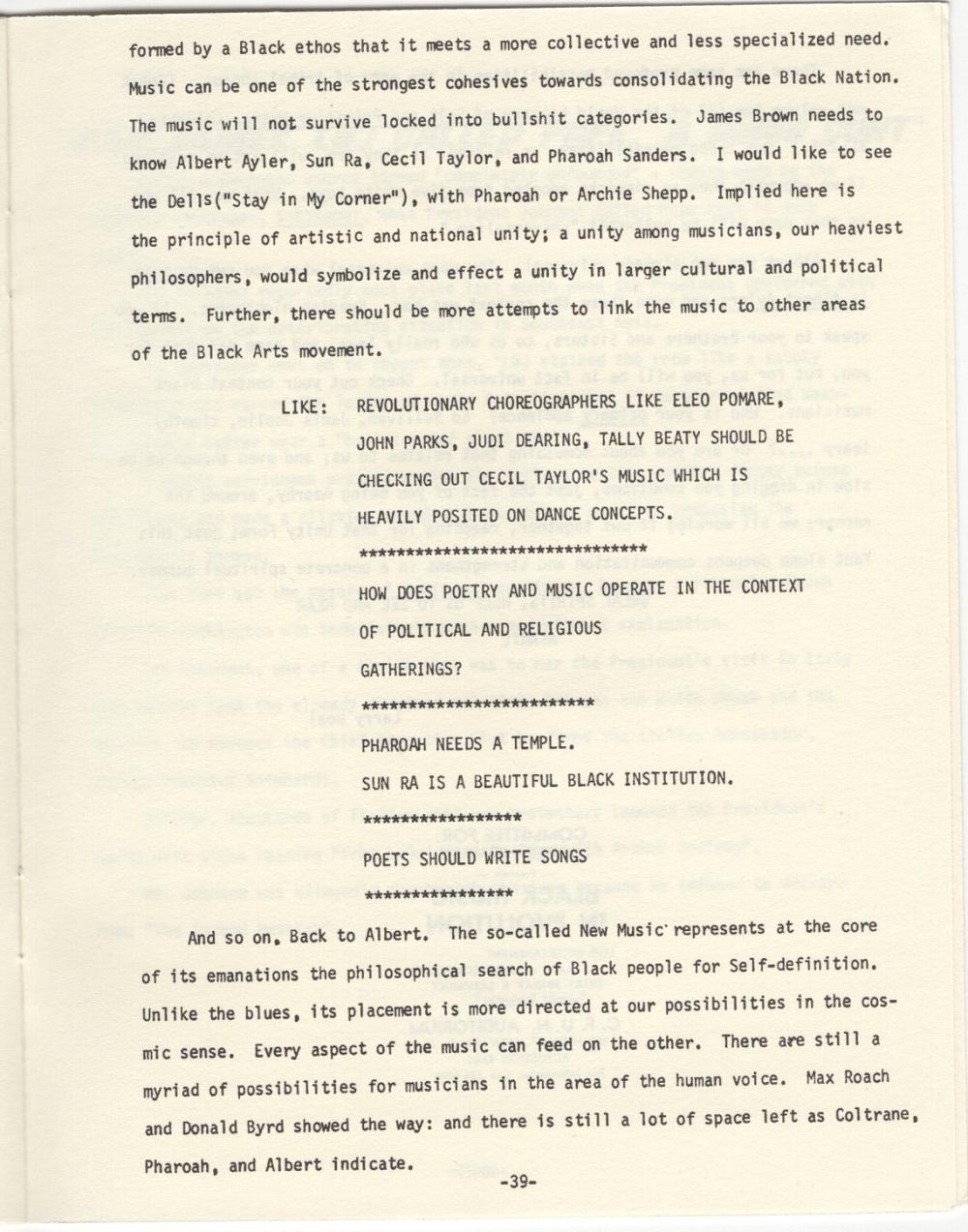 Albert Ayler : New Grass (1969) Critiq13