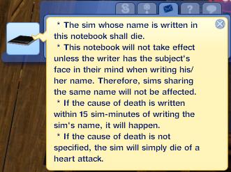 [Fiche]Le death note Messag10