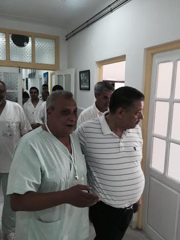 """وزير الصحة بوضياف في زيارة فجائية لمصلحة الولادة بمستشفى عنابة """"الصور""""  141"""