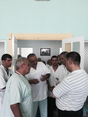"""وزير الصحة بوضياف في زيارة فجائية لمصلحة الولادة بمستشفى عنابة """"الصور""""  236"""