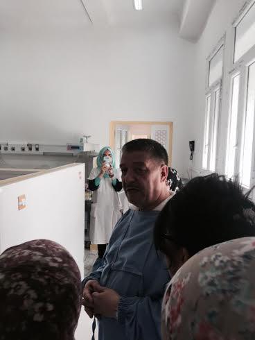 """وزير الصحة بوضياف في زيارة فجائية لمصلحة الولادة بمستشفى عنابة """"الصور""""  330"""