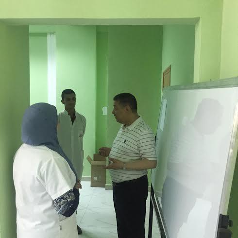 """وزير الصحة بوضياف في زيارة فجائية لمصلحة الولادة بمستشفى عنابة """"الصور""""  427"""