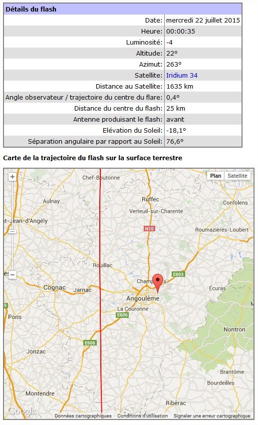 2015: le 22/07 à 00h02 environ - Un phénomène ovni surprenant -  Ovnis à Magnac sur touvre - Charente (dép.16) Iridiu10