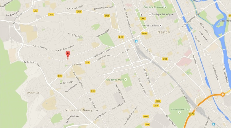 2015: le 14/08 à aux alentours de 23h - lumières rouge + blanche -  Ovnis à Laxou village - Meurthe-et-Moselle (dép.54) Laxou10