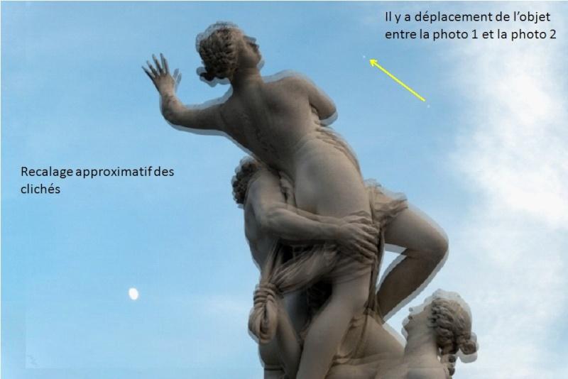 2015: le 27/06 à 21h35 - Lumière étrange dans le ciel  -  Ovnis à versailles - Yvelines (dép.78) Versai10