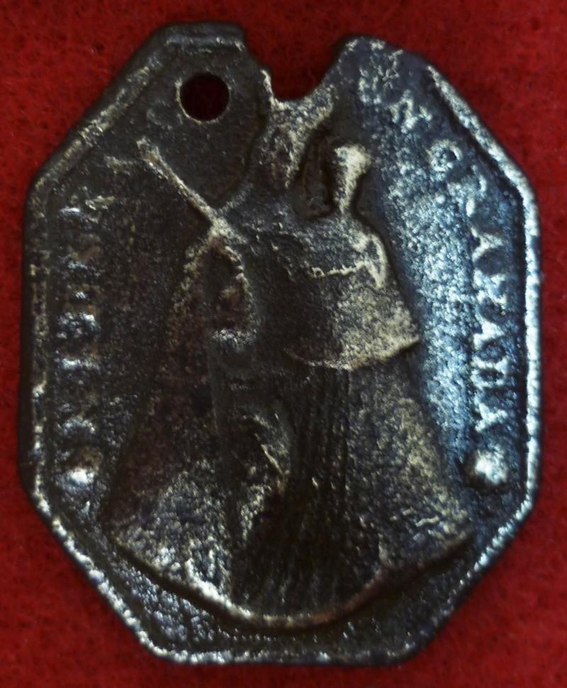 Médaille Jésus de Nazareth - XVIIIème P1040610