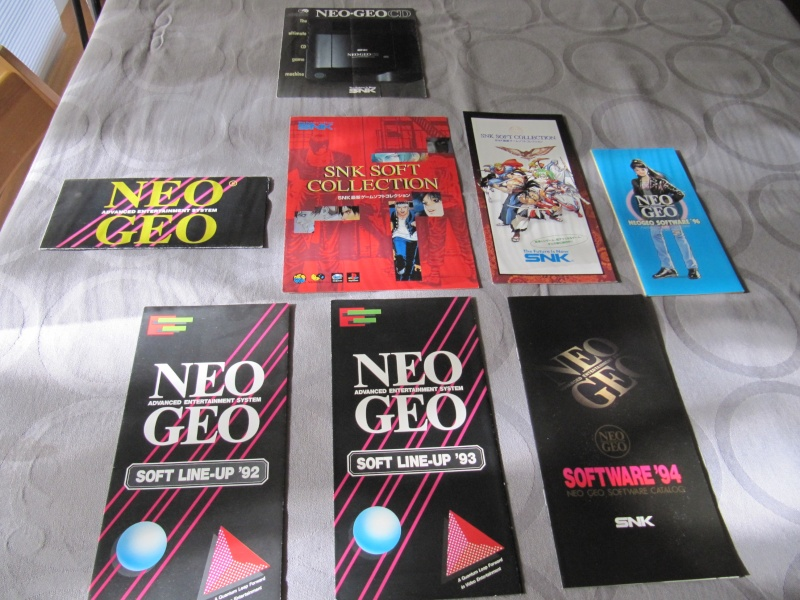 Ma collec' Neo Geo AES US Img_7510