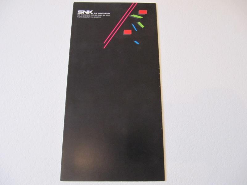 Les Brochures / Catalogues SNK Img_7611