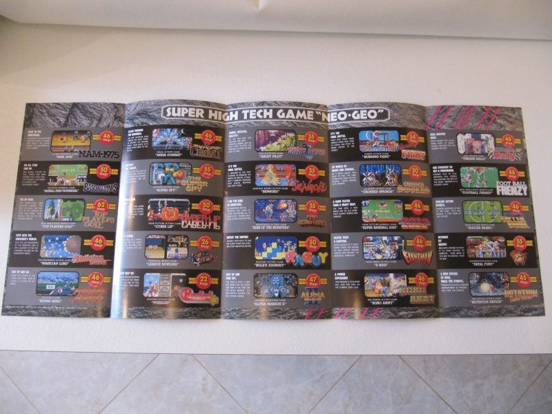 Les Brochures / Catalogues SNK Img_7613