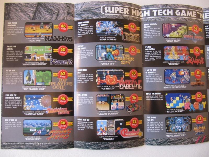 Les Brochures / Catalogues SNK Img_7614