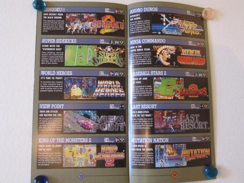 Les Brochures / Catalogues SNK Img_7639