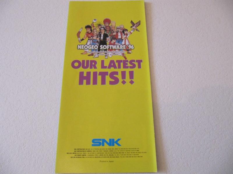 Les Brochures / Catalogues SNK Img_7645