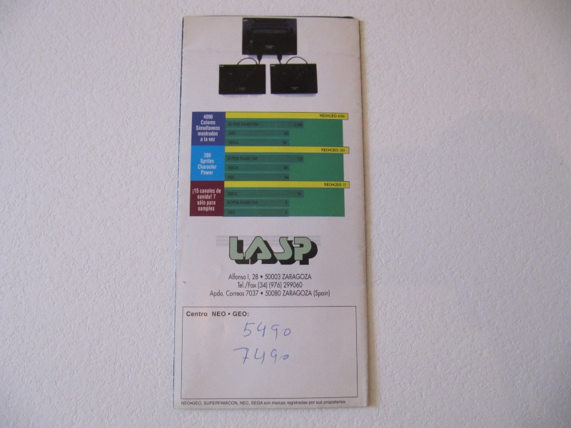 Les Brochures / Catalogues SNK Img_7656