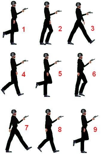 Animation personnage.  Sans_t14