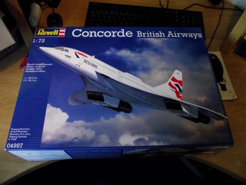 concorde 1:72 by revell Concor13