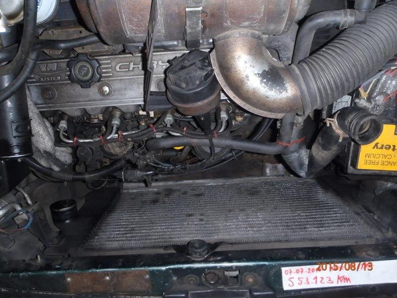 Remplacement du radiateur de refroidissement sur S2 2.5 TD. P8130018
