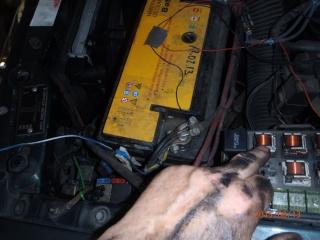 Remplacement du radiateur de refroidissement sur S2 2.5 TD. P8130021