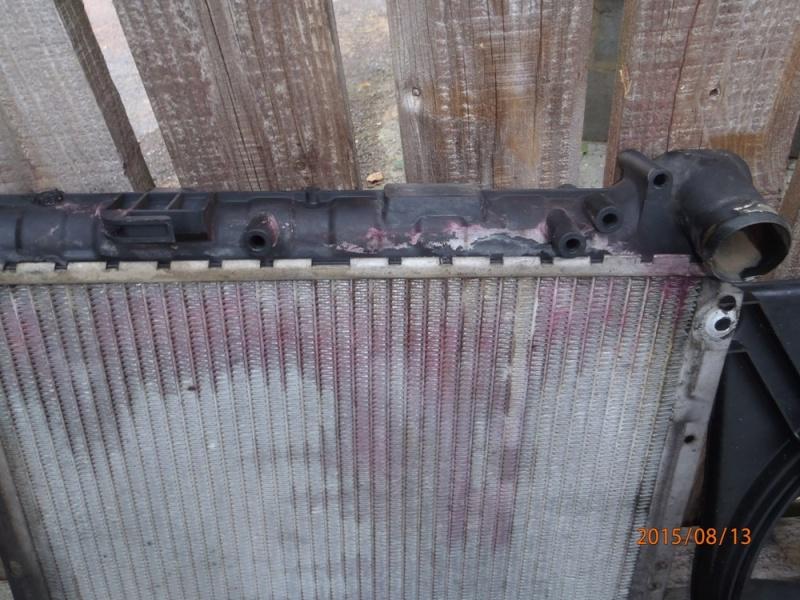 Remplacement du radiateur de refroidissement sur S2 2.5 TD. P8130023