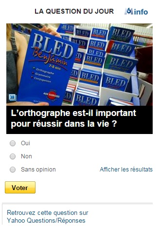 La question du jour Yahoo ! / M6 info La_que10