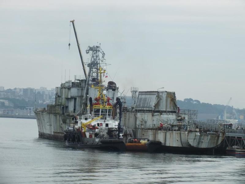 [Autre sujet Marine Nationale] Démantèlement, déconstruction des navires - TOME 2 - Page 3 Dscf4610