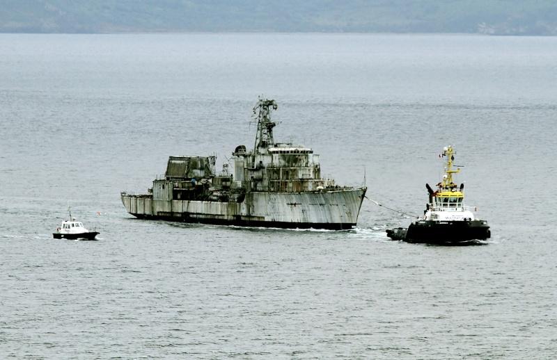 [Autre sujet Marine Nationale] Démantèlement, déconstruction des navires - TOME 2 - Page 4 Multra10