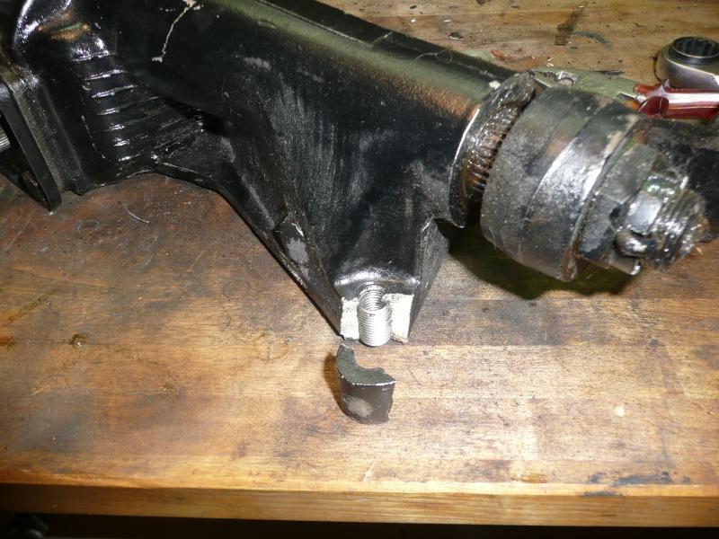 Renfort de fixation de boîtier Burman P1100810