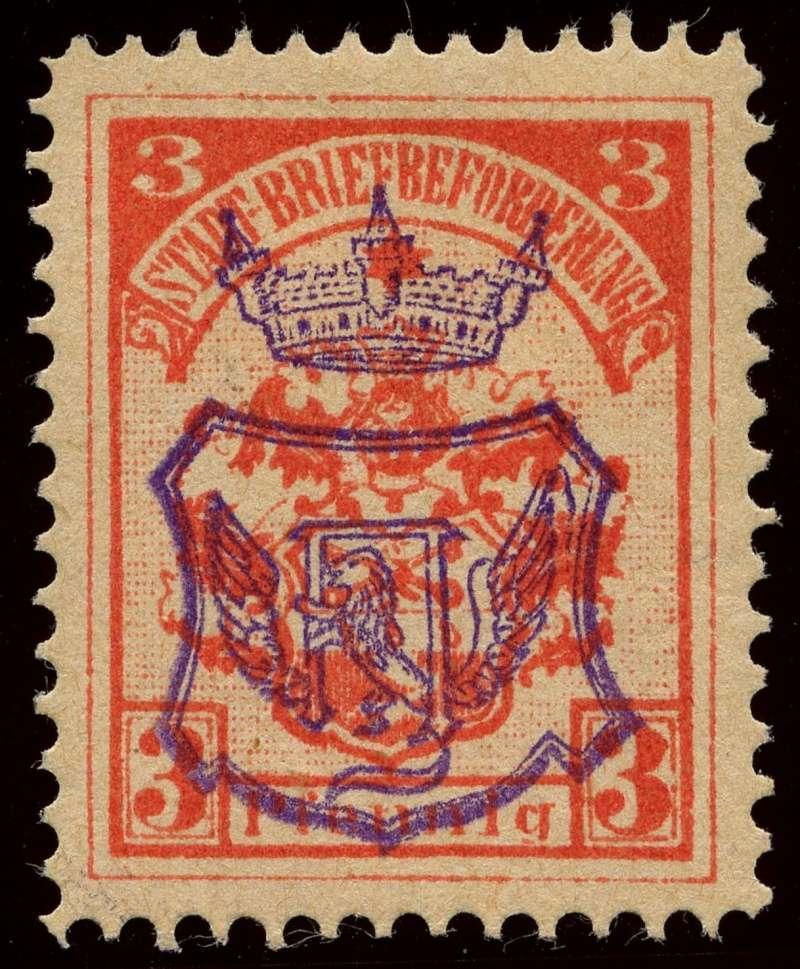 Deutsche Privatpostmarken um 1900  10_auf10
