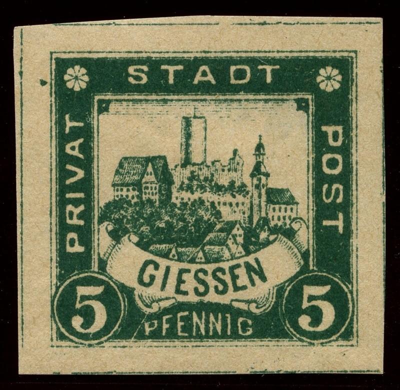 Deutsche Privatpostmarken um 1900  18_ges10