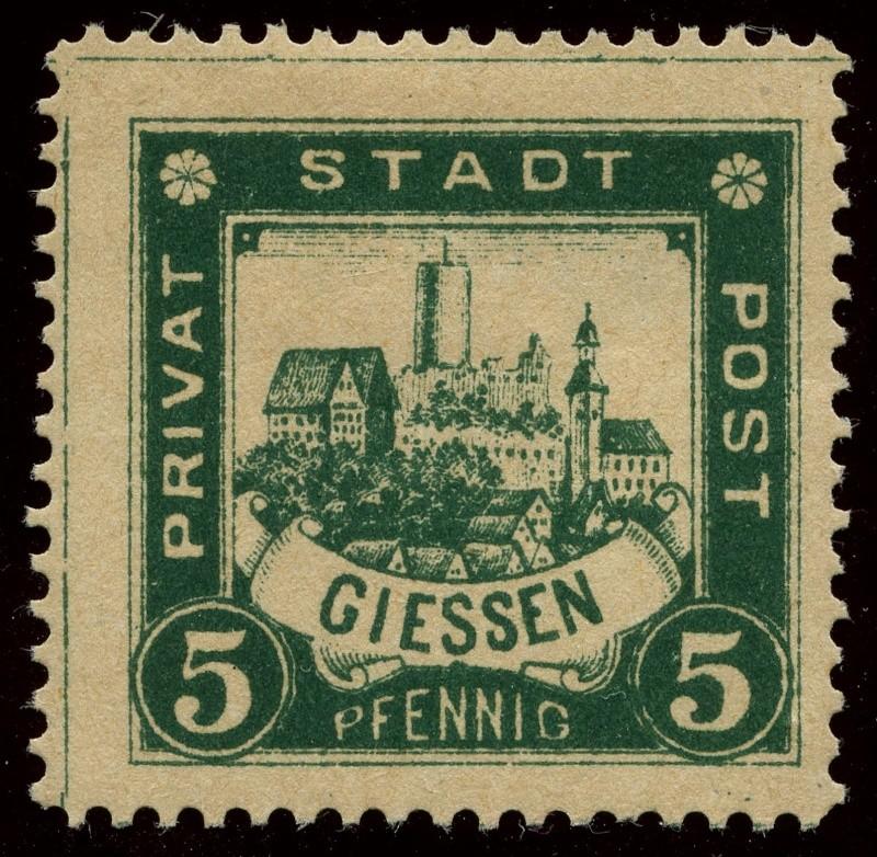 Deutsche Privatpostmarken um 1900  18_gez10
