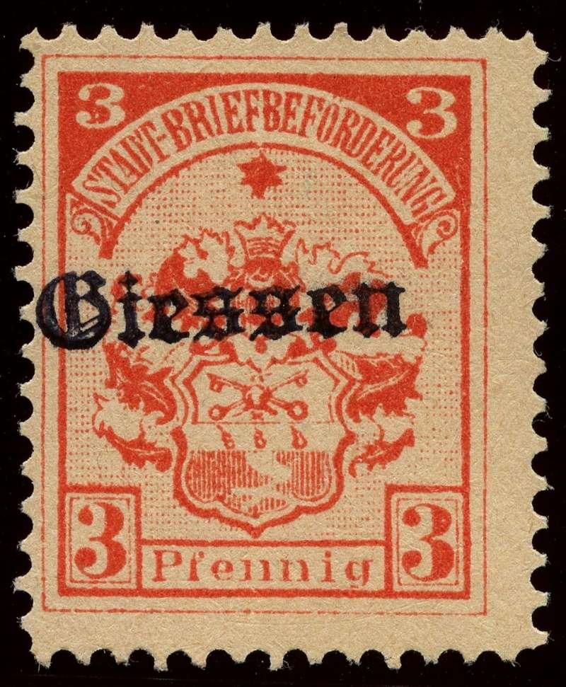 Deutsche Privatpostmarken um 1900  1a_auf10